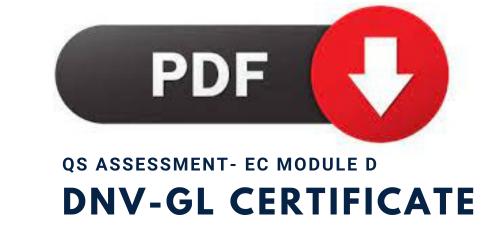 QS Assessment Certificate