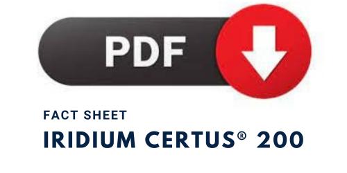 Download Link - Iridium Certus® 200 Fact Sheet